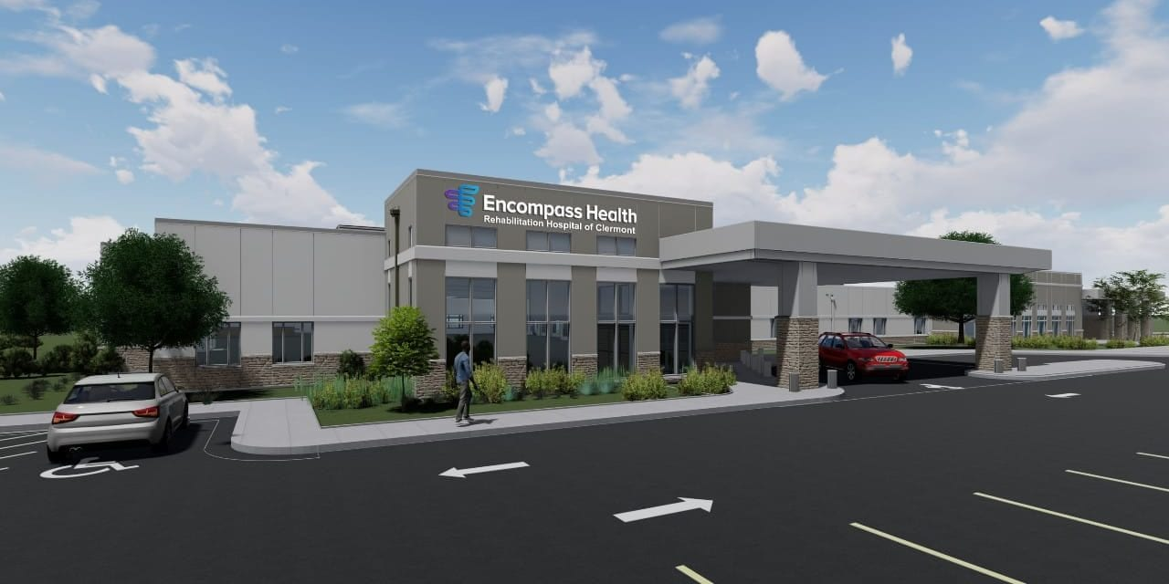 Encompass Health Makes Plans for New Rehab Hospital in Clermont, Florida