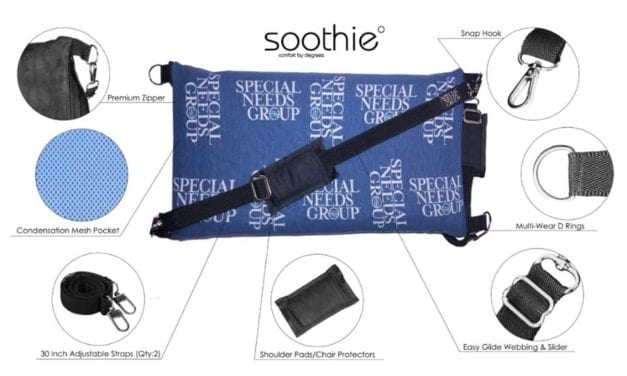 The Soothie° Cushion Offers Hot and Cold Therapy While at Home or Traveling
