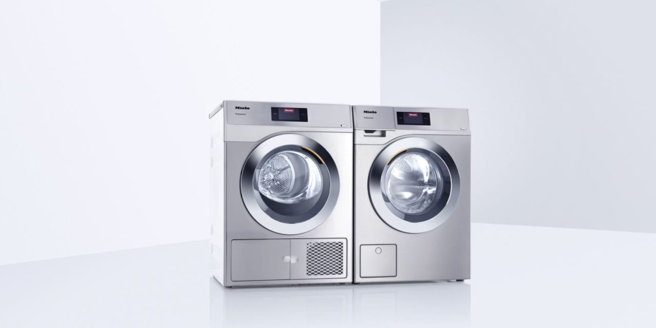 Miele's New Little Giants Laundry System Helps Clean a Rehab Hospital's Dirty Laundry