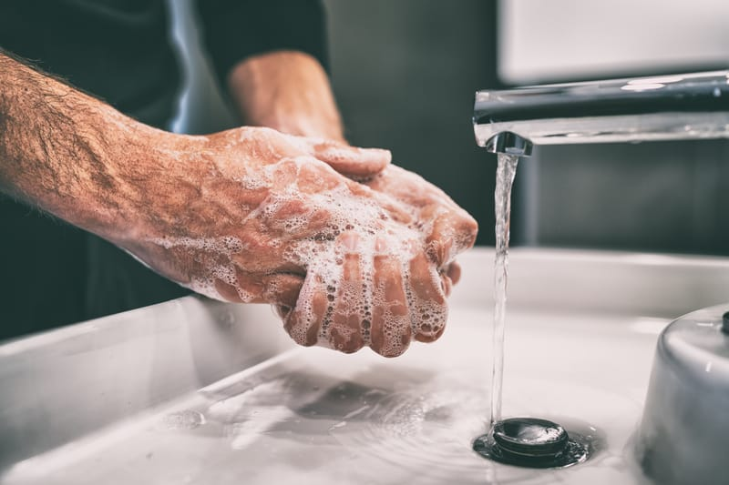 No-Touch Handwashing System for Easy Infection Control