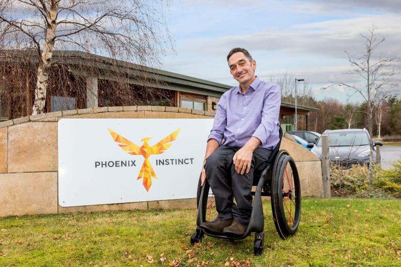 Mobility Unlimited Challenge Winner: the Phoenix i Ultra-Lighweight Intelligent Wheelchair