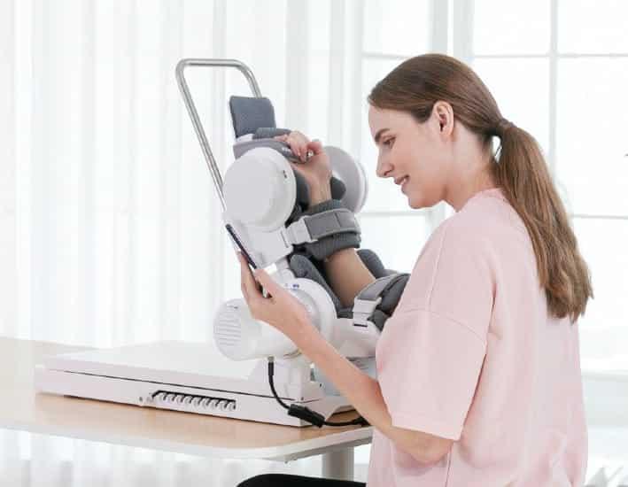 Say Hello to rebless, a Smart Robotic Rehabilitation Device