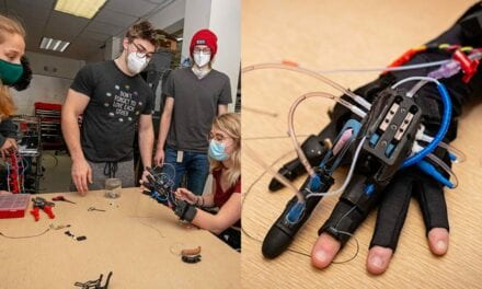 Worcester Polytechnic Institute Undergrads Developing Partial Hand Prosthetic for Injured Texas College Student