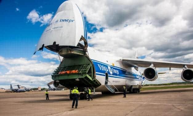 Drive DeVilbiss Transports Oxygen Concentrator Compressors Via Large Cargo Plane