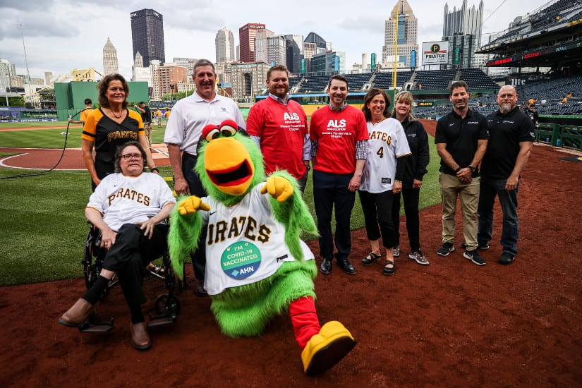 MLB Fan Battling ALS Receives a Customized Power Wheelchair During Lou Gehrig Day