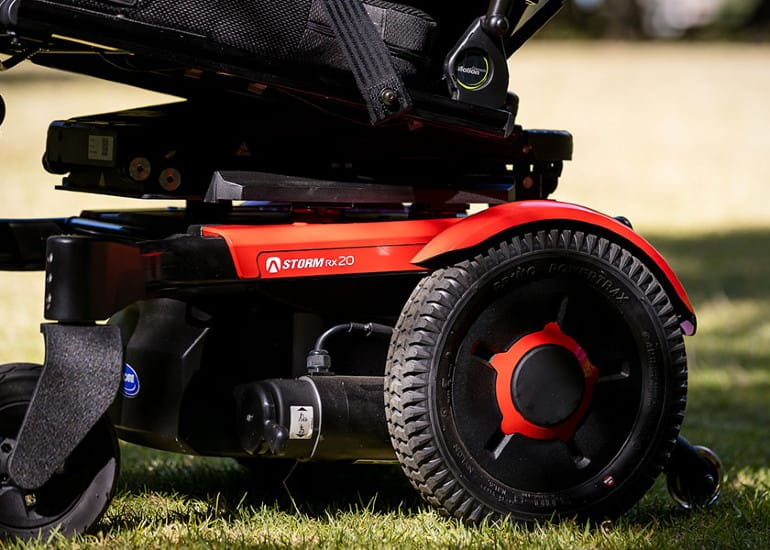 Invacare Corporation Introduces the Invacare AVIVA STORM RX, a Next Generation Rear-Wheel Drive Power Wheelchair