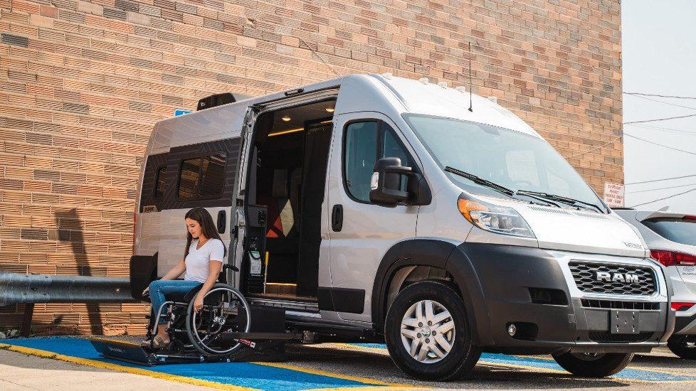 Coming in Fall 2021: the Wheelchair-Ready Winnebago Roam